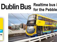 Dublin Bus Pebble App